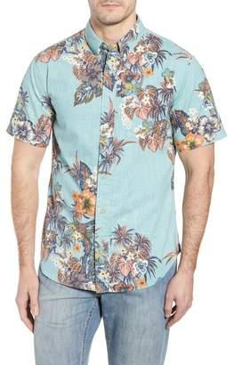 Reyn Spooner Pupas & Mai Tais Regular Fit Sport Shirt