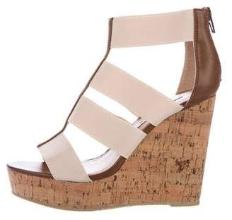 Steve Madden T-Strap Wedge Sandals