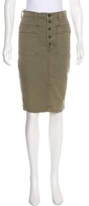 J Brand Knee-Length Cargo Skirt