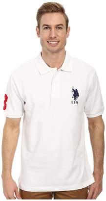 U.S. Polo Assn. Solid Pique Polo Men's Short Sleeve Pullover