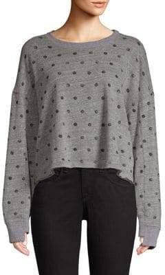 Splendid Paint Dot Sweatshirt