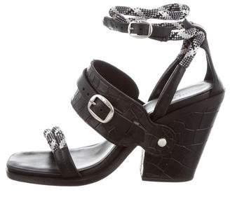 Rag & Bone Roni Embossed Sandals