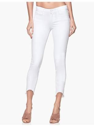 5b1c7fd3732 Paige Verdugo Crop - Crisp White Arched Hem