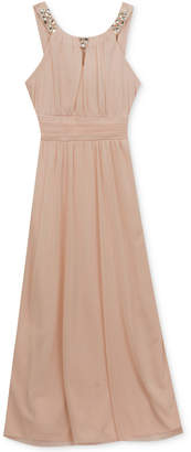Rare Editions Embellished Maxi Dress, Big Girls (7-16) $84 thestylecure.com
