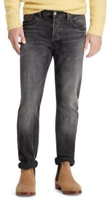 Polo Ralph Lauren Slim-Fit Stone Wash Jeans