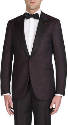 Isaia Men's Formal Paisley Jacket