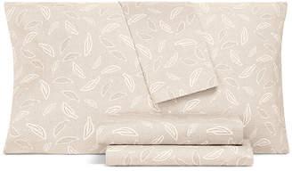 Aq Textiles Closeout! Aq Textiles Printed Modernist 4-Pc Queen Sheet Set, 350 Thread Count Cotton Blend Bedding