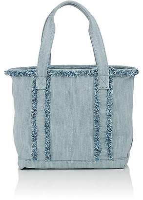 Barneys New York Women's Frayed Small Tote Bag $135 thestylecure.com