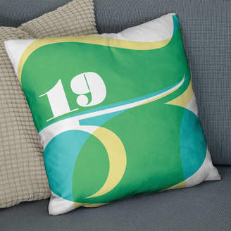 Co The Drifting Bear Personalised Special Year Date Cushion