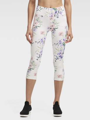 DKNY Blossom High-Waisted Cropped Tight