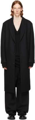 Hope Black Area Coat