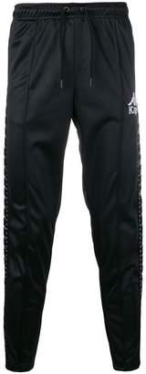 Kappa logo slim-fit track trousers