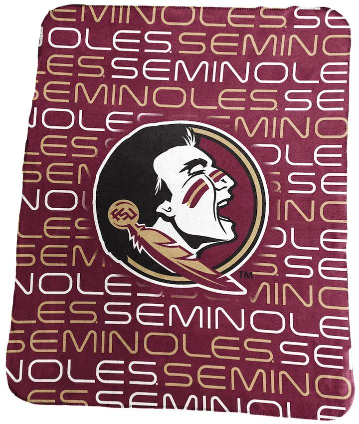 Buy Logo Brand Florida State Seminoles Classic Fleece Blanket!