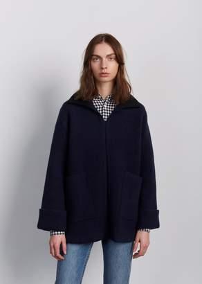 A.P.C. Venetia Poncho Sweater Dark Navy