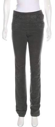 Vena Cava High-Rise Straight-Leg Pants