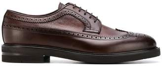 Henderson Baracco almond toe lace-up brogues