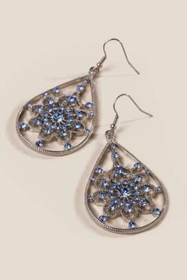 francesca's Annabeth Teardrop Earrings - Periwinkle