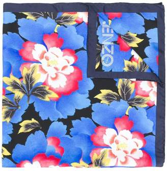 Kenzo floral printed scarf