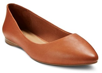Merona® Women's Sylvia Genuine Leather Flats - MeronaTM $39.99 thestylecure.com