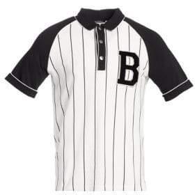 Balmain Baseball Polo Tee