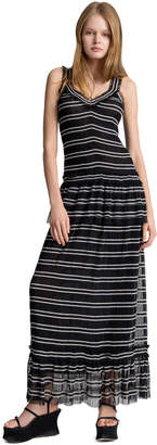 Max Studio striped long dress