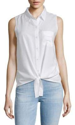 Front-Tie Sleeveless Top