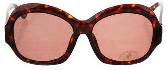 House Of Harlow Tinted Tortoiseshell Sunglasses