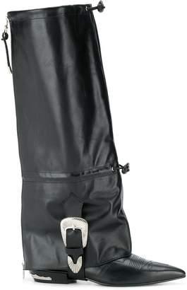 Toga Pulla knee-high boots