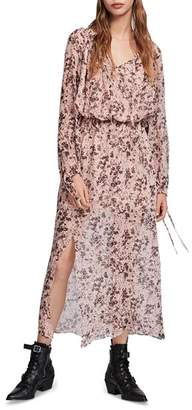 AllSaints Chesca Petal Dress