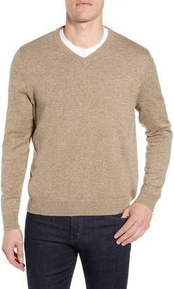 Nordstrom Cotton & Cashmere V-Neck Sweater