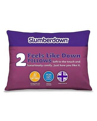 Slumberdown Feels Like Down Pillows