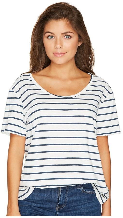 Roxy - Just Simple Stripe Tee Women's T Shirt