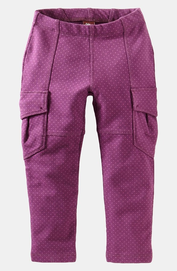 Tea Collection 'Pin Dot' Cargo Pants (Toddler Girls, Little Girls & Big Girls)