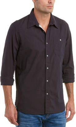 Jachs Action Pleat Classic Fit Woven Shirt