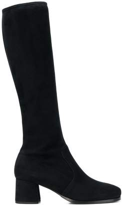 Prada mid-heel knee boots