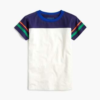 J.Crew Boys' striped football T-shirt
