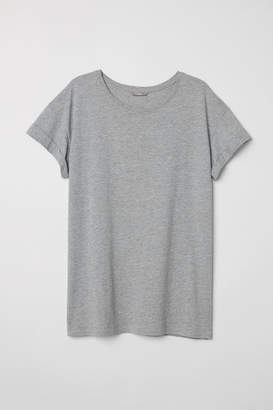 H&M H&M+ Jersey Top - Gray