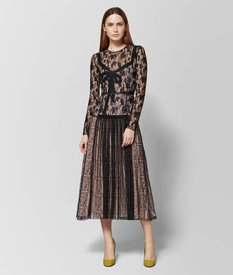 Bottega Veneta MULTICOLOR LACE DRESS