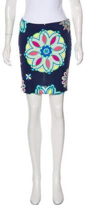 Emilio Pucci Abstract Print Mini Skirt