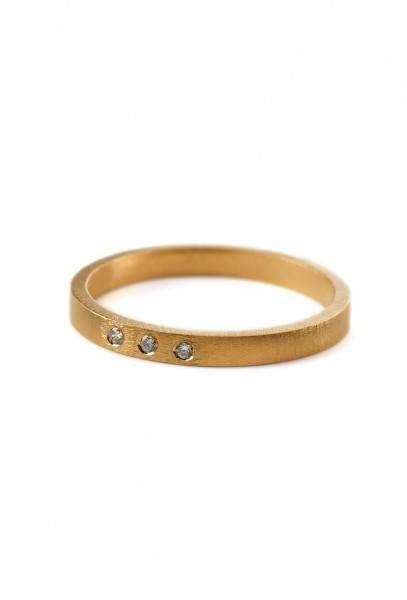 Styleserver DE Pernille Corydon Ring Petite Alliance Triple - vergoldet 52