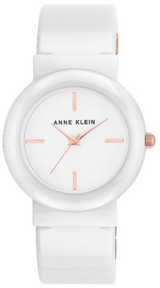 Women's Anne Klein Bangle Bracelet Watch, 36Mm $150 thestylecure.com