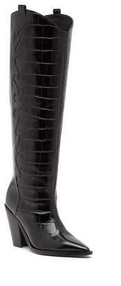 Sigerson Morrison Karida Leather Knee High Boot