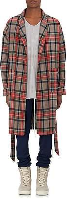 Fear Of God Men's Plaid Wool Twill Robe