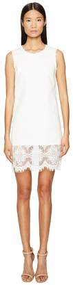 McQ Hybrid Short Lace Dress Women's Dress