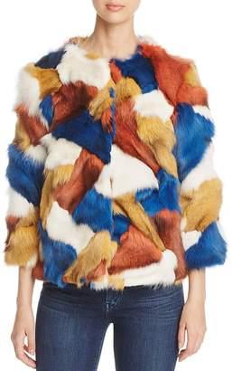 Maximilian Furs Fox Fur Patchwork Jacket - 100% Exclusive