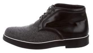 Nicholas Kirkwood Round-Toe Chukka Boots