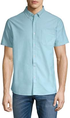 Tavik Men's Uncle Short-Sleeve Cotton Button-Down Shirt