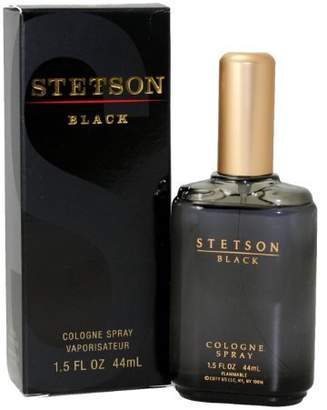 Coty Stetson Black By For Men. Cologne Spray 1.5-Ounces by