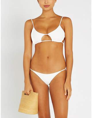 Frankie's Bikinis Frankies Bikinis Willa ribbed bikini top