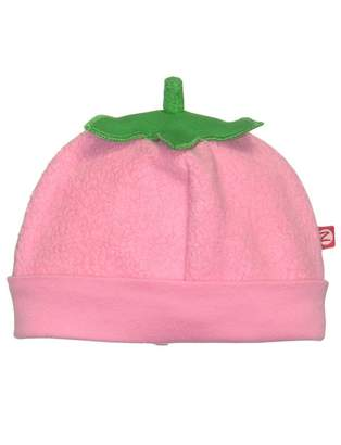 Zutano Girls Cozie Fleece Strawberry Super Fruit Baby Winter Hat by - 18 Mths/20-24 Lbs/30-32